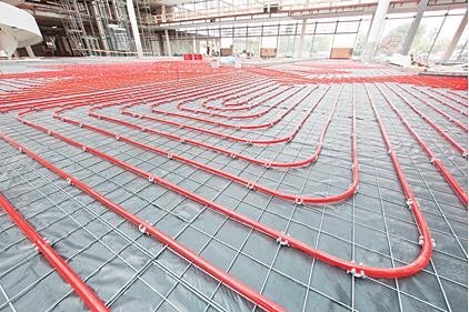 Underfloor heating both commercial and residential